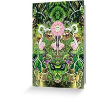 Forest Lotus Greeting Card