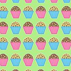 Muffins Phone Case by Louise Parton
