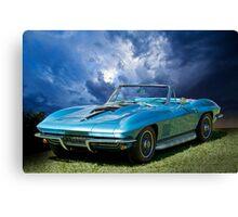 1967 Chevrolet Corvette 427 Canvas Print