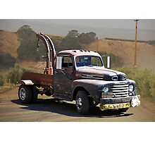 Aging Ford Tow Truck Photographic Print