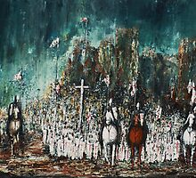 Crusade  - Marching Out by Kaye Miller-Dewing