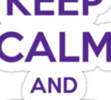 Keep Calm and Find Mr. Darcy Jane Austen Sticker