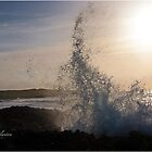 Sunrise Splash by RichardBlanton