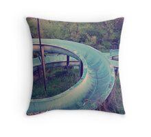 Curles Throw Pillow