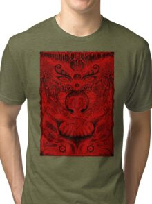 Red Meltdown Tri-blend T-Shirt