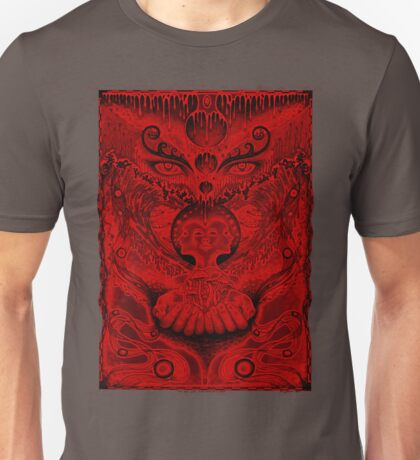 Red Meltdown Unisex T-Shirt