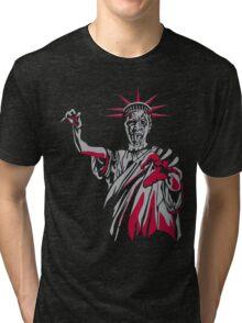 Statue of Fear Tri-blend T-Shirt
