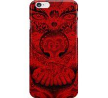 Red Meltdown iPhone Case/Skin