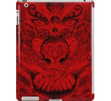 Red Meltdown iPad Case/Skin