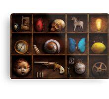 Steampunk - A box of curiosities Metal Print