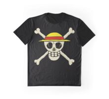 One Piece Skull Graphic T-Shirt
