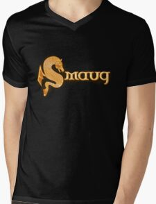 Smaug Mens V-Neck T-Shirt
