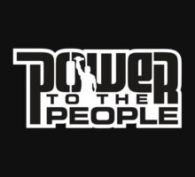 Power To The People - BLACK by DISLautomatic