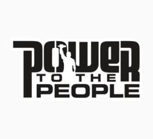 Power To The People - BLACK Kids Clothes