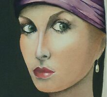 Renaissance closeup by Kaye Miller-Dewing