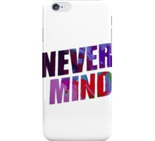 NEVERMIND | BTS iPhone Case/Skin