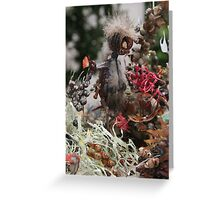 Barrier Leaf ~ Nutley Scuber Diver Greeting Card
