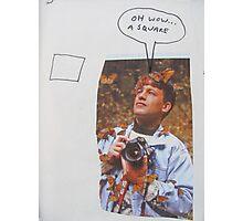 The Photographer Photographic Print