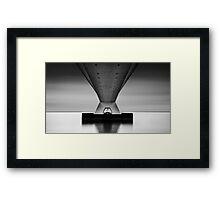 Zeeland bridge II Framed Print