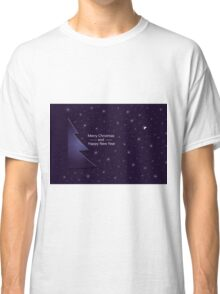 New Year; winter; Christmas card Classic T-Shirt