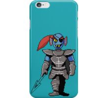 Colored Undyne iPhone Case/Skin