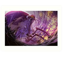 Ratchet & Clank Spider Cave Art Print