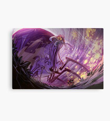 Ratchet & Clank Spider Cave Metal Print