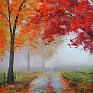 Misty Road by Graham Gercken