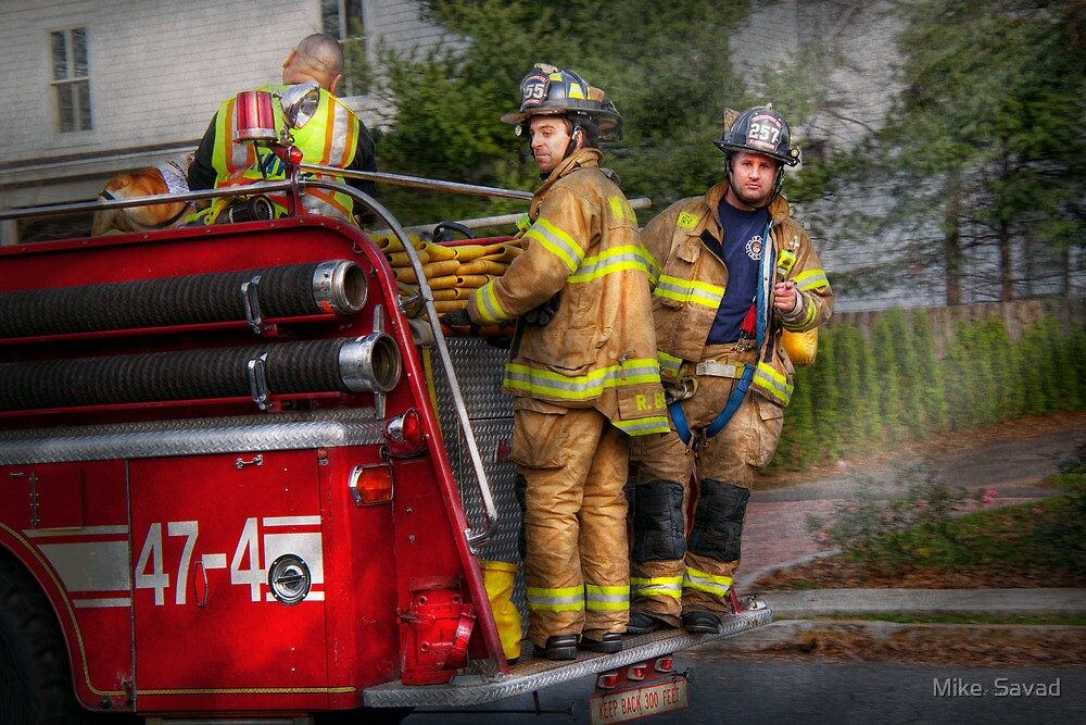 Firefighting - Only you can prevent fires by Mike  Savad