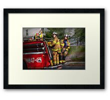 Firefighting - Only you can prevent fires Framed Print
