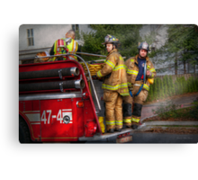 Firefighting - Only you can prevent fires Canvas Print