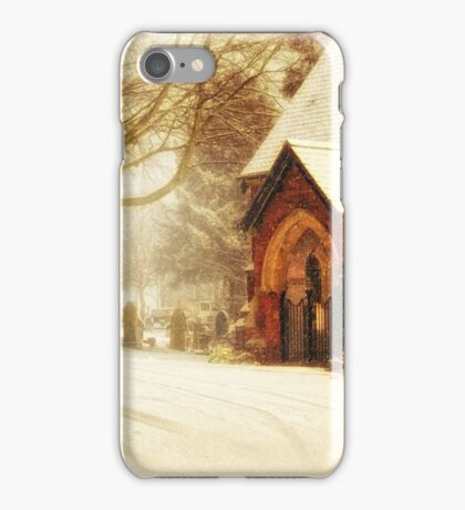 Winter's wreath iPhone Case/Skin