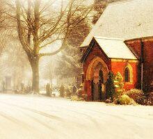 Winter's wreath by Lyn Evans