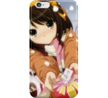 The Melancholy of Haruhi Suzumiya - Yuki Nagato - Mikuru Asahina - Christmas iPhone Case/Skin