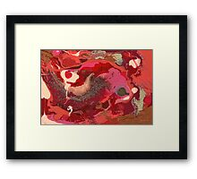 Abstract - Love Framed Print