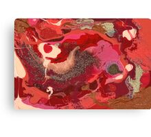 Abstract - Love Canvas Print