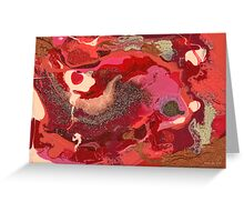 Abstract - Love Greeting Card