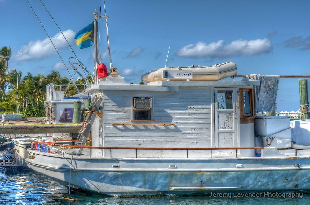 """The Yamacraw"" docked on Eastern Road in Nassau, The Bahamas by Jeremy Lavender Photography"