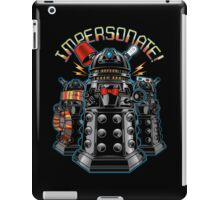 Impersonate! iPad Case/Skin