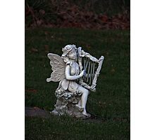 Angel of Music Photographic Print
