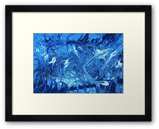 Abstract - Ocean Deep by Mike  Savad