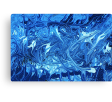 Abstract - Ocean Deep Canvas Print