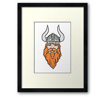 Vector Viking  Framed Print