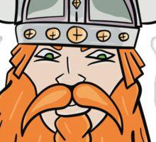Vector Viking  Sticker