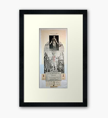 LOS PASOS DEL DISCIPULO (The steps of the disciple) Framed Print