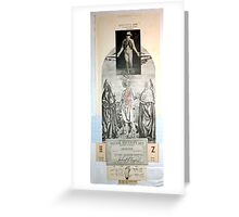 LOS PASOS DEL DISCIPULO (The steps of the disciple) Greeting Card