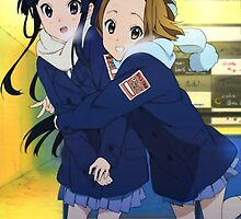 K-On! - Mio and Ritsu - Winter / Christmas by frictionqt