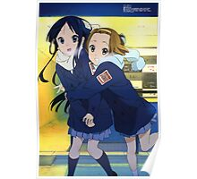 K-On! - Mio and Ritsu - Winter / Christmas Poster