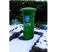 Postbox at Rosslare ... Photographic Print