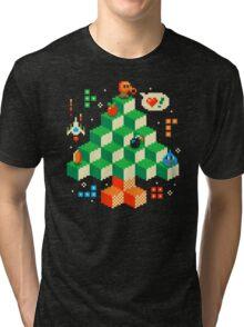RETRO HOLIDAY! Tri-blend T-Shirt